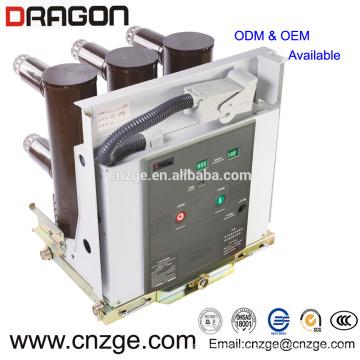 Interruptor de circuito de vacío de alto voltaje / medio voltaje 12kv