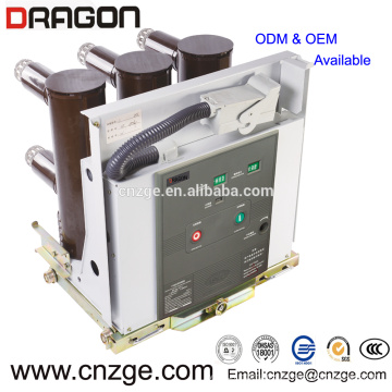 ZN63A-12 (VS1) 11kv 630a haute tension intérieure disjoncteur à vide