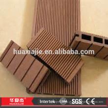 Resistente às intempéries WPC Wood Plástico Decking composto Pavimentação