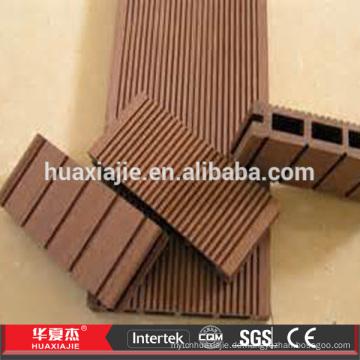 Witterungsbeständige WPC Holz Plastik Composite Decking Bodenbelag