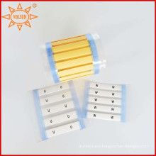 High Temperature Resistant Cable Marker Lables for Cable Identification