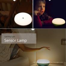 2017 Alibaba Quarto Banheiro Night Light com Sensor de bateria Crianças Baby Lamp