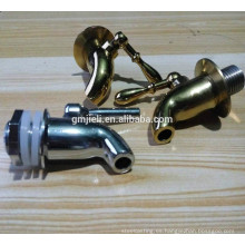 Válvula de agua de latón con proceso de pulido de espejo por mecanizado