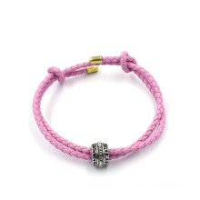 Bracelets de mode OEM Bracelet en cuir personnalisé en forme de perles