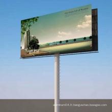 Panneau composite en aluminium pour panneau de signalisation en plein air