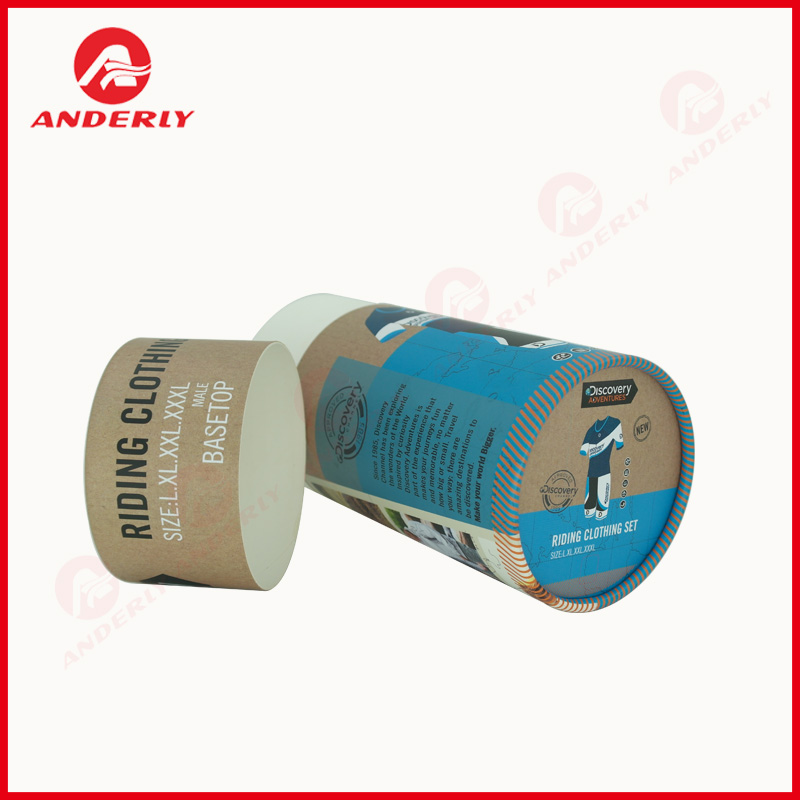 Clothes Paper Tube Packaging