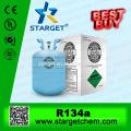 Auto refrigerante gás R134a, HFC134A em 13,6 kg garrafa