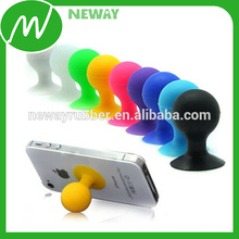 Custom Logo Hot Sell Round Cell Phone Suction Cup Holder