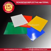 Roadsigns acrílico vinil reflexivo de segurança do Material