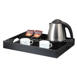 Stainless Steel Kettle with Service Tray