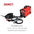 Inverter HF Lift  LED TIG welder machine
