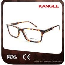 Best-seller montures optiques en acétate et verres en acétate, lunettes en acétate
