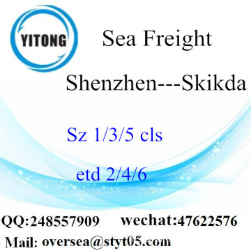 Shenzhen Port LCL Consolidation To Skikda