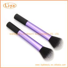 Pincel redondo sintético Blush para maquiagem