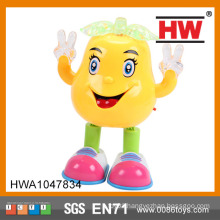 Funny Plastic Pear Shaped Battery Operated Dancing Toy