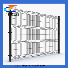 Clôture en PVC recouvert de PVC de qualité supérieure (usine ISO9001)