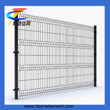 High Quality PVC Coated Triangle Bending Fence (ISO9001 factory)
