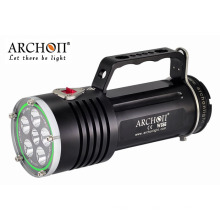 Magnetic Switch Rechargeable Technical Dive Lights Waterproof 200meters