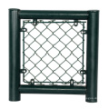 6ft coated chain link fence top rail stand