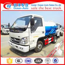 China 1500 - 2000 litros Foton camión de alcantarillado para la venta