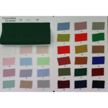 Stock Supply 100% poliéster sarja tecido tecido de vestuário têxtil