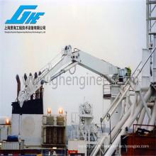 Capacité de chargement de 5 tonnes Grue à levage lourd, Boom de nœud avec treuil en option