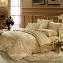 Maravilhoso tecido em relevo de poliéster para folha de cama com boa qualidade à venda