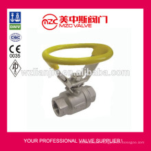 Oval Handle Stainless Steel Ball Valve 304 Ball Valves