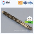 China Hersteller Fabrication High Quality CNC Bearbeitung Keilwelle Achse