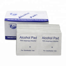 Steriles Isopropylalkohol-Desinfektionspad