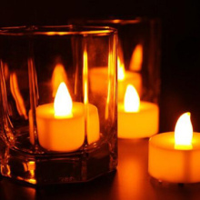 Candele tealight feste eventi decorazione LED