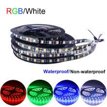 Tira flexible de la luz del RGB LED de la prenda impermeable de DC 12V SMD 5050 IP65
