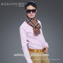 Nueva bufanda de la cachemira del mens del invierno 100% del diseño