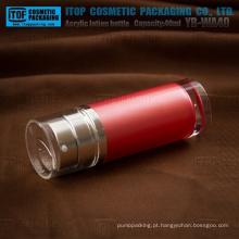 YB-WA40 40ml (20 ml x 2) espessura boa qualidade cosméticos pmma tubo duplo frasco da loção