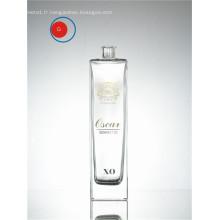 Bouteille en verre de cognac XO en gros