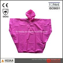 Children′s Rain Coat Disposable EVA Poncho