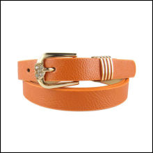 LUXURY/ NEW WOMENS GENUINE LEATHER BELT WITH BUCKLE Casual/formal FOR WOMEN SO COOL