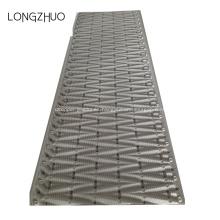 Embalaje de relleno de la torre de enfriamiento de flujo cruzado de PVC de 750 mm de ancho