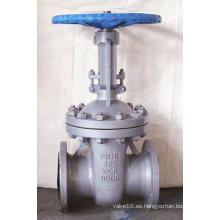 Válvula de compuerta según estándar US con asiento Viton