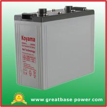 Bateria de armazenamento de gel 800ah 2V para ferrovia / Telecom