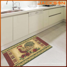 Tapis de conception moderne de cuisine de latex