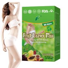 Fruits leaves plus slimming tea fast diet Fat burner slim tea natural herbs Beauty Fit detox Weight loss tea