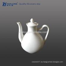 Porcelana fina de plato de condimento blanco para restaurante y hotel