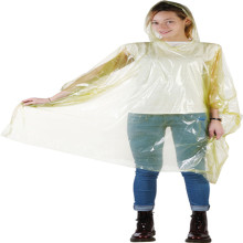 Custom Rained Ponchos LDPE Dewasa