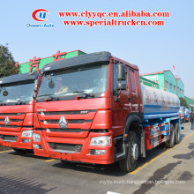 SINOTRUK HOWO 6x4 20000 liter water srinkler truck for sale