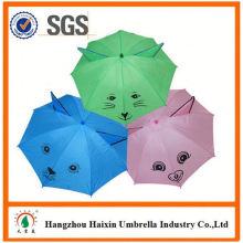 Parapluies de dessin animé animal mignon Open professionnel automatique d'impression