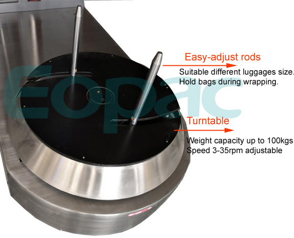Hotel Baggage Wrapping Machine