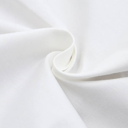 65 Polyester 35 Cotton Plain White Fabric
