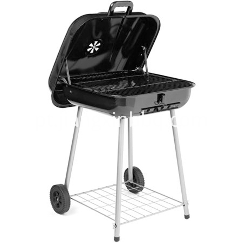 22 Inch Square Charcoal Grill Opening