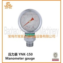 API Certified YNK150 Manometer Gauge